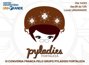 Banner do grupo Pyladies Fortaleza.
